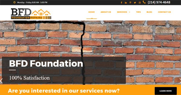 BFD Foundation New Website