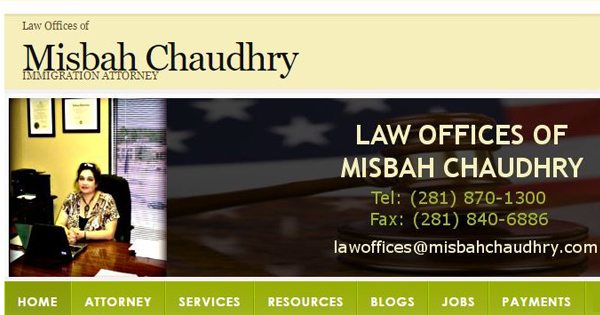 Misbah Chaudry Law