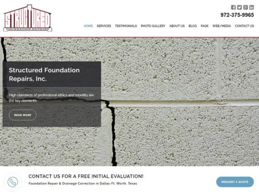 Structured Foundation Repairs, Inc.
